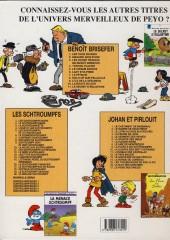 Verso de Benoît Brisefer -8b02- Hold-up sur pellicule