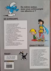 Verso de Les schtroumpfs -3c05- La Schtroumpfette