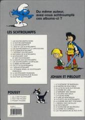 Verso de Les schtroumpfs -5b99- Les Schtroumpfs et le Cracoucass