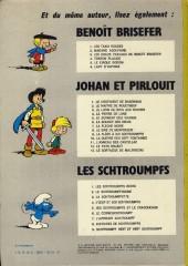 Verso de Les schtroumpfs -6a76- Le cosmoschtroumpf
