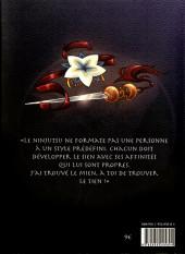 Verso de Shinobi Iri -1- Tome 1