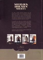 Verso de Sherlock Holmes Society -1- L'Affaire Keelodge