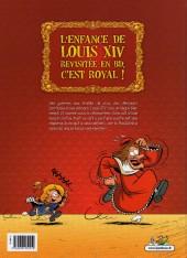 Verso de Le petit Louis XIV -1- Tome 1