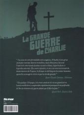Verso de La grande Guerre de Charlie -8- Le jeune Adolf