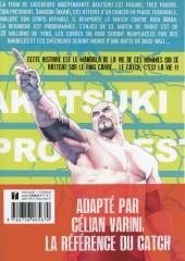 Verso de Lock Up - Pro-Wrestling -2- Tome 2