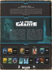 Verso de La peur géante -2- L'Ennemi des profondeurs