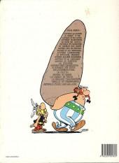 Verso de Astérix -8d1985- Astérix chez les Bretons