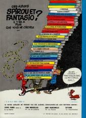 Verso de Spirou et Fantasio -1d1977- 4 aventures de Spirou... et Fantasio