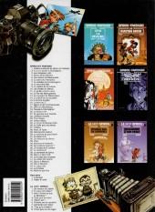 Verso de Spirou et Fantasio -13f01- Le voyageur du mésozoïque