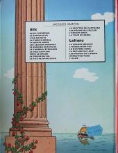 Verso de Alix -2b1982- Le sphinx d'or