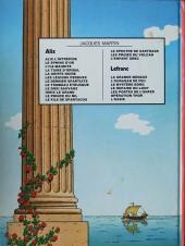 Verso de Alix -15a1981- L'enfant grec