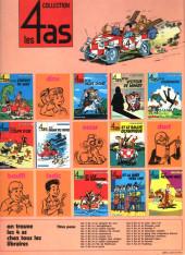 Verso de Les 4 as -18a1981- Les 4 as et la licorne