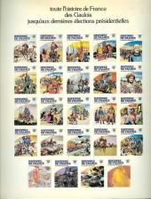 Verso de Histoire de France en bandes dessinées -14a- Louis XV, l'indépendance américaine