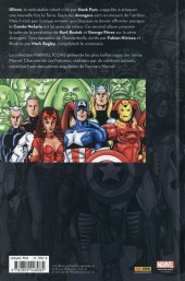 Verso de Avengers (Marvel Icons) -2- Tome 2