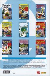Verso de Fantastic Four (L'intégrale) -1- Fantastic Four : L'intégrale 1961-1962
