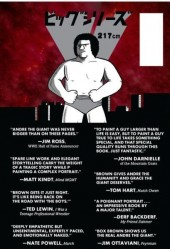 Verso de Andre The Giant: Life and Legend (2014) - Andre The Giant: Life and Legend