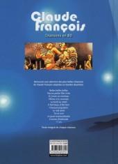 Verso de Chansons en Bandes Dessinées  -a- Claude François - Chansons en BD