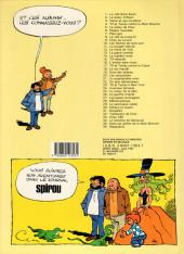 Verso de Tif et Tondu -11b1987- La poupée ridicule