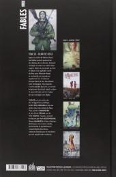 Verso de Fables (Urban Comics) -20- Blanche Neige