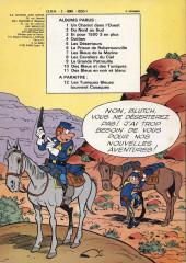 Verso de Les tuniques Bleues -1b77- Un chariot dans l'ouest