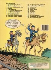 Verso de Les tuniques Bleues -1d85- Un chariot dans l'ouest