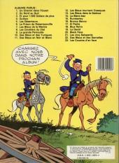 Verso de Les tuniques Bleues -12b1985- Les Bleus tournent cosaques