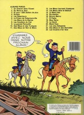 Verso de Les tuniques Bleues -19b85- Le David