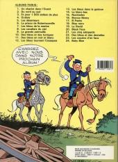 Verso de Les tuniques Bleues -22a1986- Des bleus et des dentelles