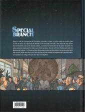 Verso de Special Branch -5- Paris la noire