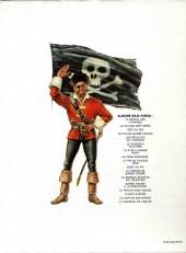 Verso de Barbe-Rouge -2c1977- Le Roi des Sept Mers
