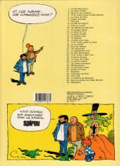 Verso de Tif et Tondu -24b1987- Aventure birmane