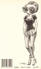 Verso de Natacha -1Poch- Hôtesse de l'air