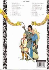 Verso de Thorgal -9c05- Les Archers