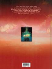 Verso de Retour au centre de la Terre -2- Les piliers de No'or