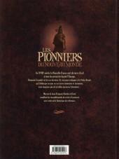 Verso de Les pionniers du Nouveau Monde -INT3- L'intégrale - Tomes 9 à 12