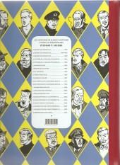 Verso de Blake et Mortimer -20Soir2- La Malédiction des trente deniers - Tome 2