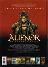 Verso de Les reines de sang - Aliénor, la Légende noire -4- Volume 4