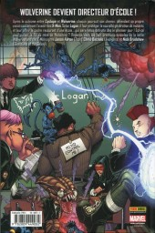 Verso de Wolverine and the X-Men -1- Bienvenue chez les X-Men !