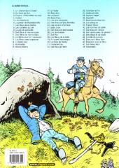 Verso de Les tuniques Bleues -2e05- Du nord au sud