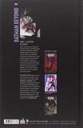 Verso de Batman Beyond -1- Le Retour de Silence