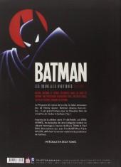 Verso de Batman : Les Nouvelles Aventures -1- Volume 1