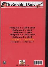 Verso de Désiré -INT6- 1968 - 1969