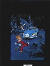 Verso de Spirou et Fantasio (Une aventure de.../Le Spirou de...) -3c2014- Le tombeau des Champignac