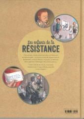 Verso de Les enfants de la Résistance -1- Premières actions