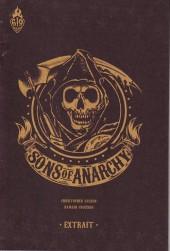 Verso de Sons of Anarchy -HS- Hommage à sons of anarchy
