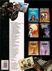 Verso de Spirou et Fantasio -34b99- Aventure en Australie