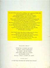 Verso de Les grands hommes de l'Ouest -a- Buffalo Bill - Le roi des éclaireurs