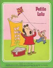Verso de Rire et fou rire (Collection) - Petite Lulu - Ça chauffe chez Lulu !