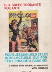 Verso de Histoires noires (Elvifrance) -5- 38 spécial