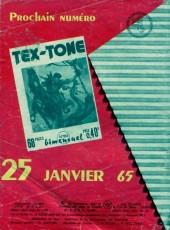 Verso de Tex-Tone -185- Revanche